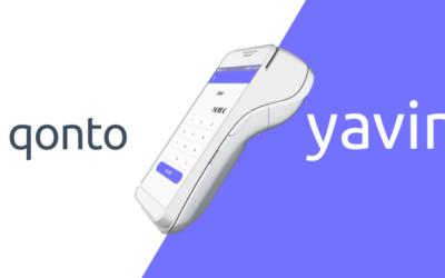 Qonto, la néo-banque compatible avec votre terminal de paiement Yavin